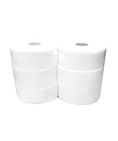 Nagytekercses ipari toalett Wc papír 23cm 2 rétegű (100% cell.) 6 darabos