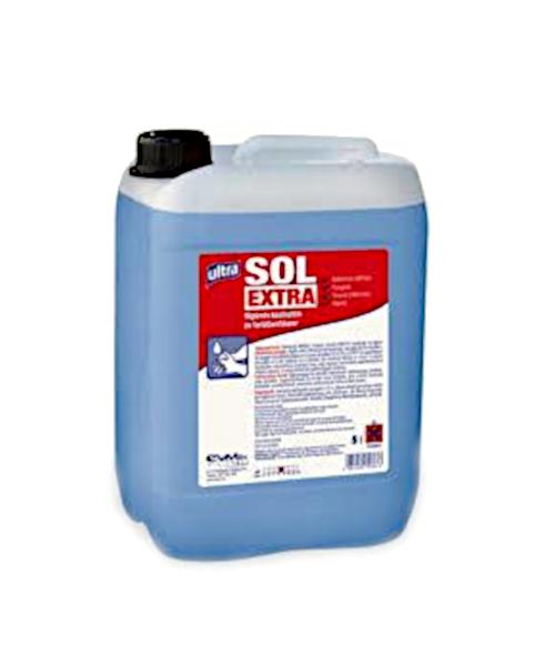 ULTRA SOL EXTRA fertőtlenítő hatású folyékony szappan, 5 l