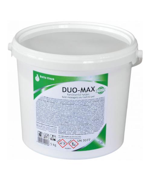 Duo-Max Fertőtlenítő hatású kézi mosogató és tisztítópor, 5kg, vödrös