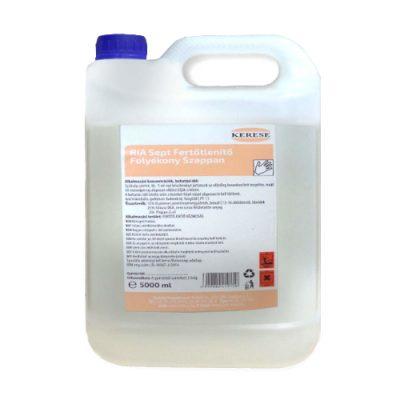 Ria Sept Felületfertőtlenítő hatású folyékonyszappan, 5 literes